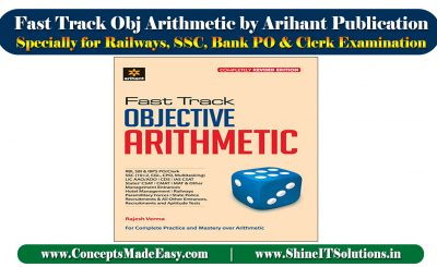 Review of Fast Track Objective Arithmetic Arihant Publication Book Specially for Railways, SSC, Bank PO and Clerk Examination