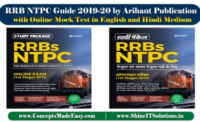 Review of RRB NTPC Guide 2019-20 by Arihant Publication with Online Mock Test Specially for Railways NTPC and Group-D Examination in English and Hindi Medium